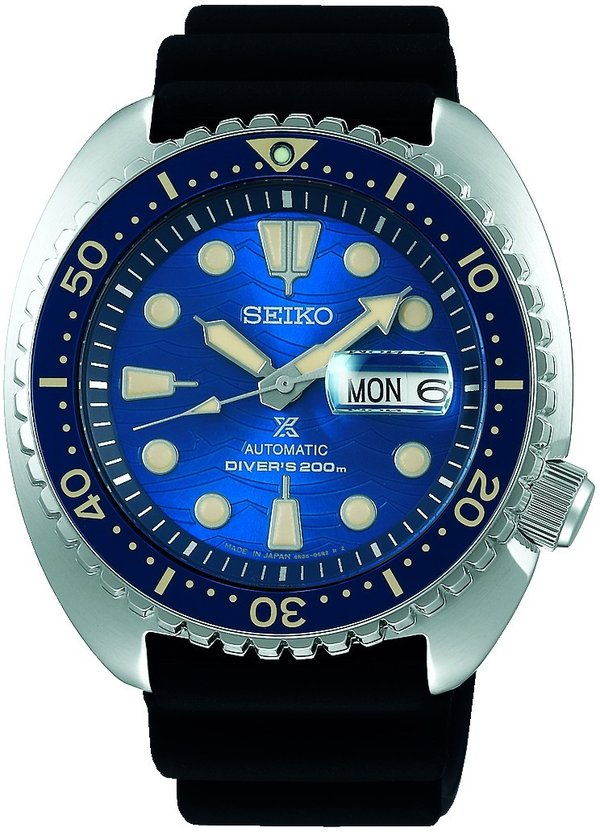 SEIKO Prospex Save the Ocean King Turtle SRPE07K1 SPECIAL EDITION