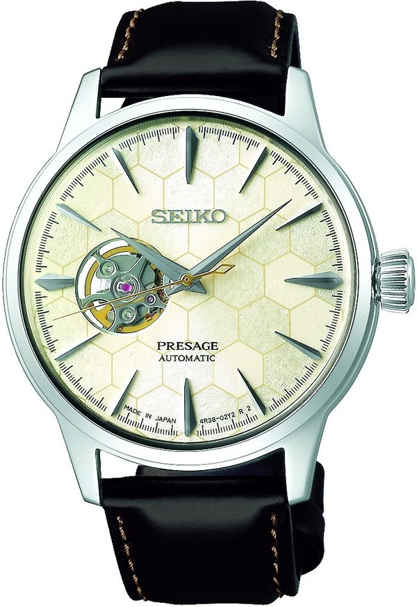 "SEIKO Presage Cocktail ""Honeycomb"" SSA409J1 limited Edition"
