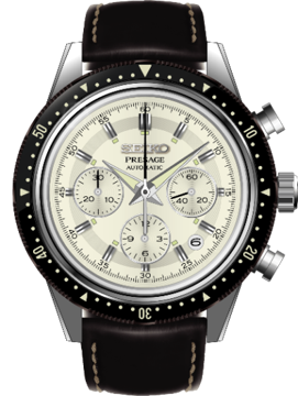 SEIKO Presage Chronograph 55th Anniversary Limited Edition SRQ031J1