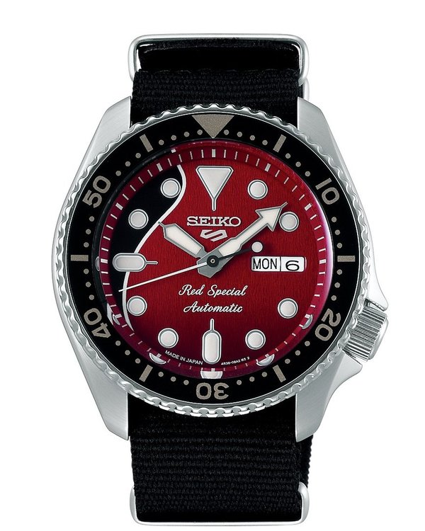 "SEIKO 5 Sports BRIAN MAY ""Red Special"" QUEEN Limited Edition SRPE83K1"